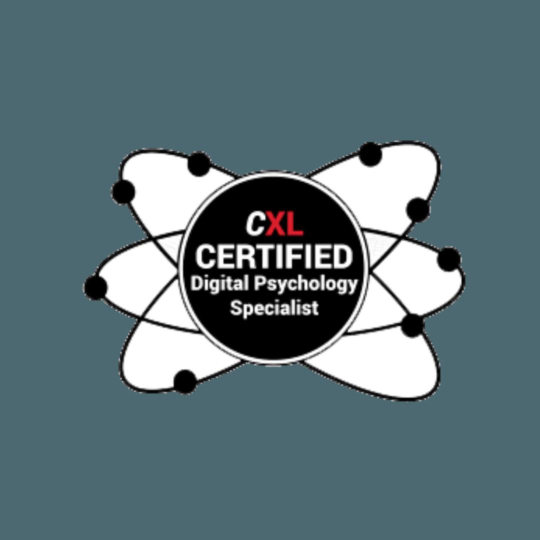 CXL Certified Digital Psychology Specialist Josipher Walle