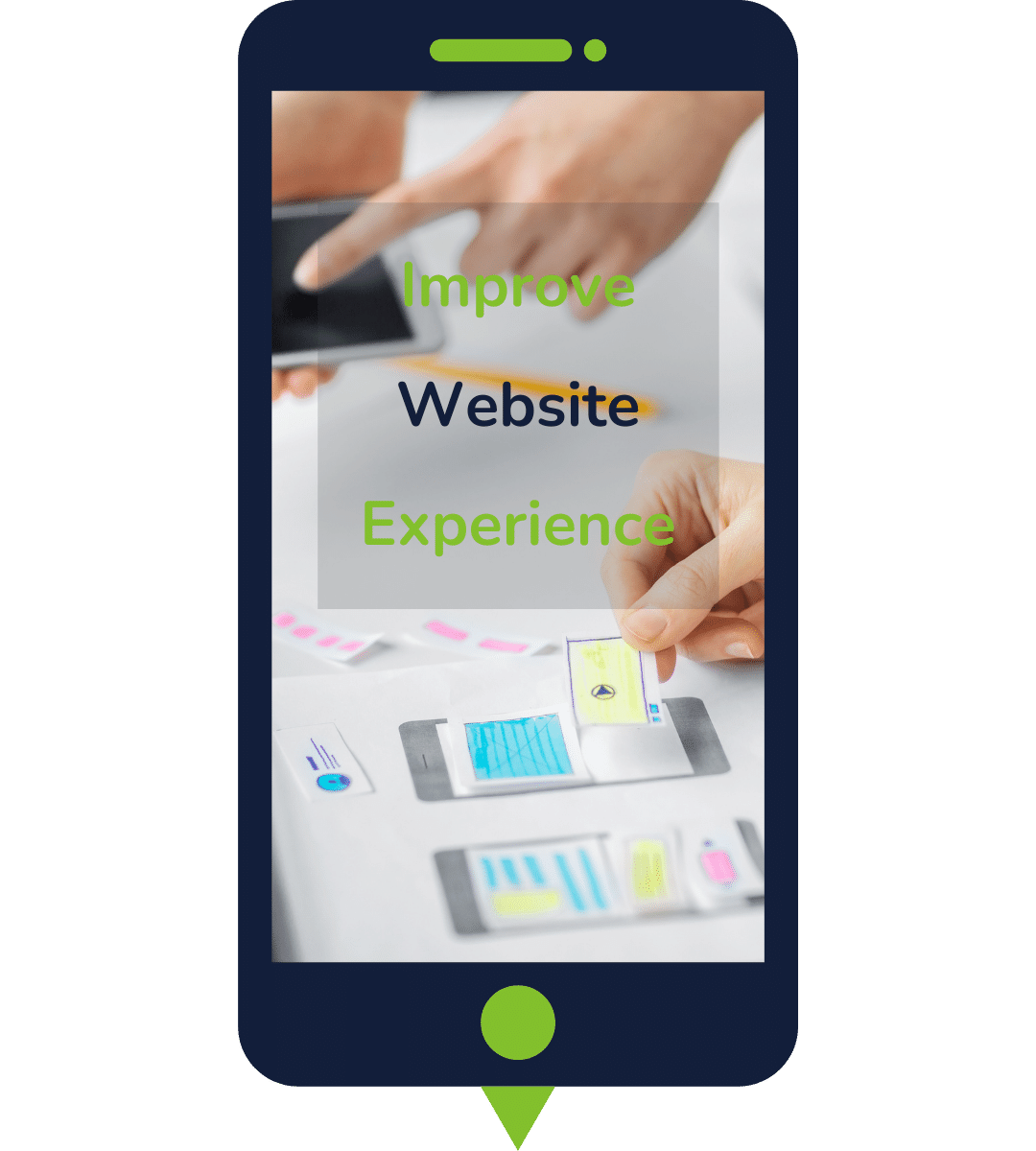 Conversion Rate Optimization opportunity spot, by Josipher Walle, mobile